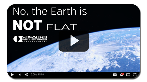 Video discussion of flat earth and geocentrism
