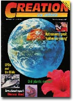 Creation Magazine Volume 19 Issue 4 Cover