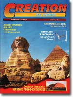 Creation Magazine Volume 20 Issue 2 Cover