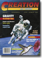 Creation Magazine Volume 22 Issue 3 Cover