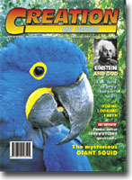 Creation Magazine Volume 23 Issue 1 Cover