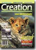 Creation Magazine Volume 24 Issue 2 Cover