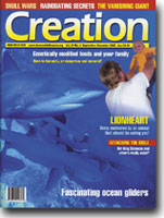 Creation Magazine Volume 24 Issue 4 Cover