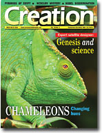 Creation Magazine Volume 26 Issue 4 Cover