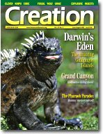Creation Magazine Volume 27 Issue 3 Cover