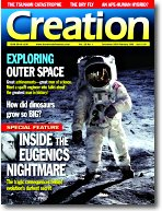 Creation magazine 28(1) cover