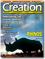 Creation Magazine Volume 28 Issue 2 Cover