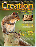 Creation Magazine Volume 30 Issue 2 Cover