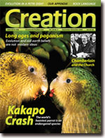 Creation Magazine Volume 30 Issue 4 Cover