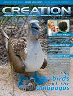 Creation magazine Volume 31 Issue 2 Cover