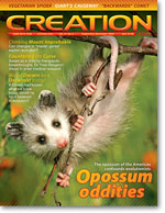 Creation magazine Volume 31 Issue 4 Cover