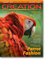 Creation Magazine Volume 32 Issue 2 Cover