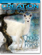 Creation Magazine Volume 34 Issue 1 Cover