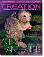 Creation Magazine Volume 35 Issue 1 Cover