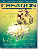 Creation Magazine Volume 35 Issue 2 Cover