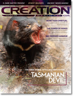 Creation Magazine Volume 37 Issue 2 Cover