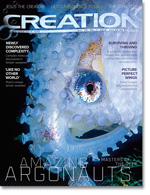 Creation Magazine Volume 38 Issue 1 Cover