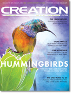 Creation Magazine Volume 39 Issue 1 Cover
