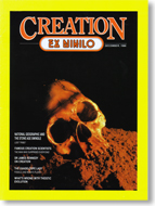 Creation Magazine Volume 9 Issue 1 Cover