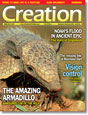 Creation  Volume 28Issue 4 Cover