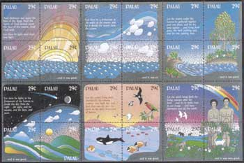 Palau Stamps
