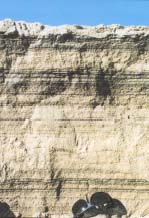Sand Layers, laminations or sandy stripes