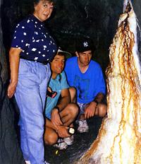 stalagmite shawl