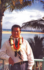 Dr William Ho during a visit to Hawaii.