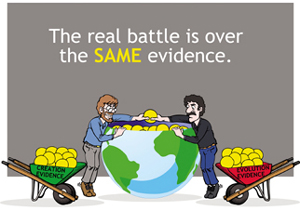 War Over Same Evidence