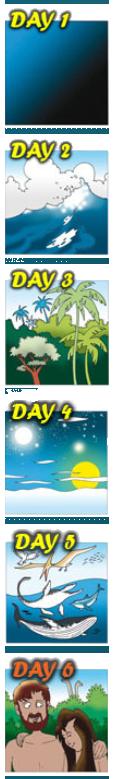 Creation days