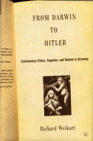 Book cover From Darwin to Hitler