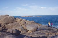 Granite seascape