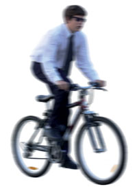 Mormon and bike