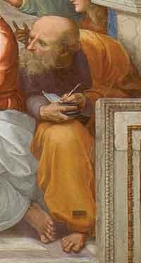 Anaximander who had evolutionary ideas