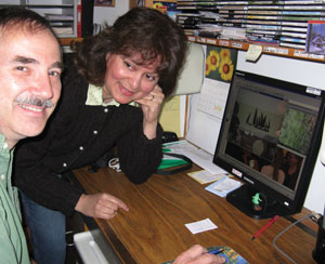 Gina and Dan have been married for 27 years.  Dan is a computer programmer, and he handles the information technology side of P&M Technologies.  The couple also own a small publishing company and a stained glass business.