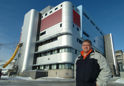 The Infectious Disease Research Centre where Dr Bergeron works in Quebec City