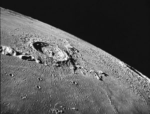 This crater is evidence for a small impact on our Moon.