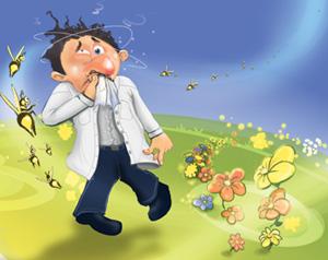 Pollen paradox