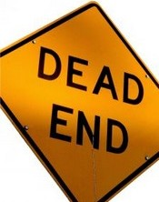 Dead End sign