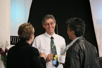 Gary Bates speaking at a conference