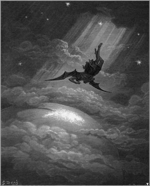 Illustration for John Milton's Paradise Lost by Gustave Doré, 1866.