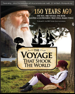 The Voyage that Shook the World, CMI's Darwin documentary
