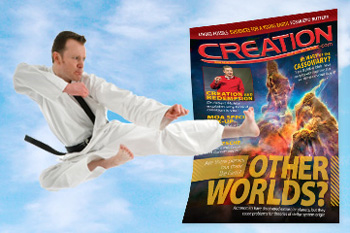 Evolutionist attacks CMI's magazine