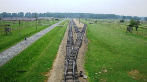 Auschwitz—site of the German concentration camps