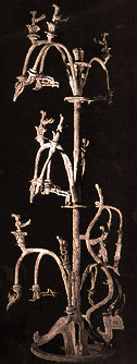 The bronze tree of Sanxingdui