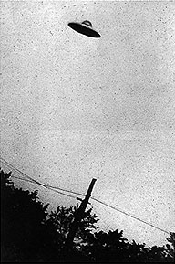 Purported UFO, Passoria, New Jersey, July 1952.