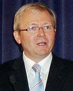 Kevin Rudd, Leader of the Opposition, Australia (Photo from wikipedia.org)