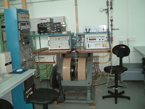 Image of an EPR spectrometer.
