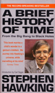 cover pic of Stephen Hawking's book, A Brief History of Time