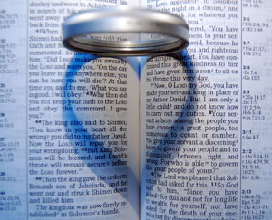 Ring heart bible